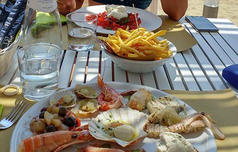 Spezialitäten in Porto Santa Margherita