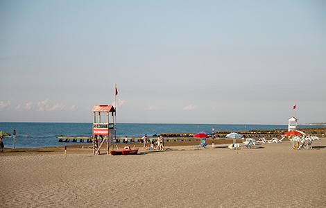 P. S. Margherita und sein Strand