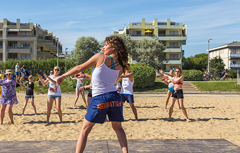 Dance on holiday to stay in shape